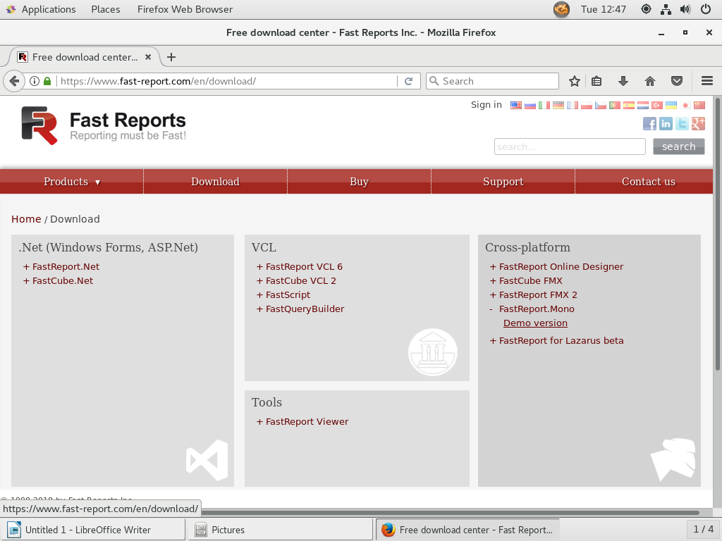 Installation FastReport Mono on CentOS7 - Fast Reports Inc