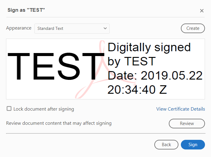 Digital Signature to PDF Export - Fast Reports Inc