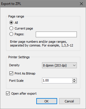 How to print a report in ZPL format - Fast Reports Inc