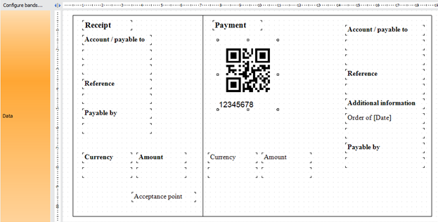 Swiss QR-bill form creation