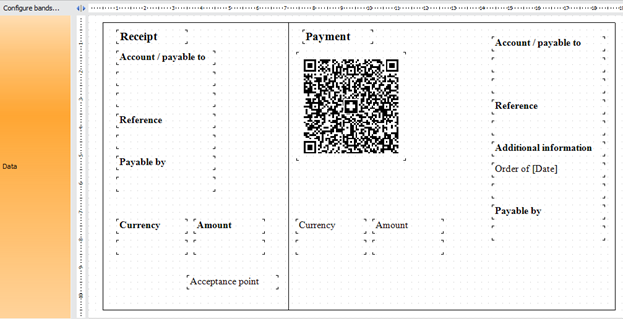 Swiss QR-bill report template result