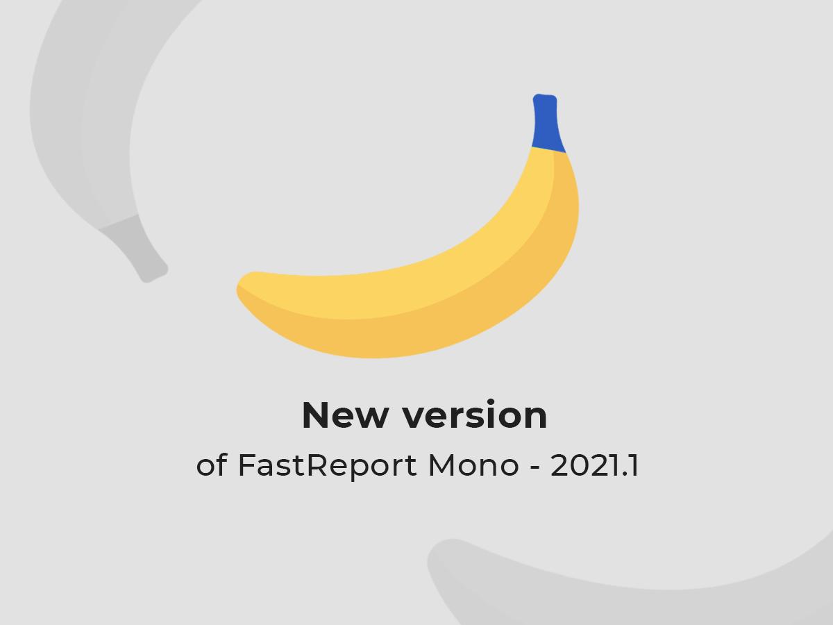 FastReport Mono 2021.1