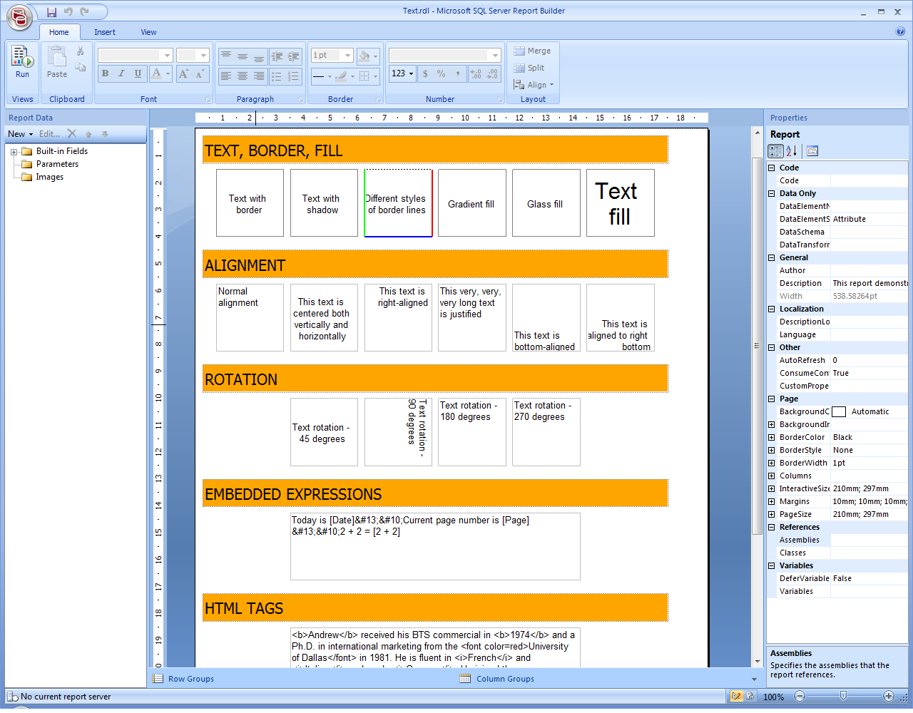 How To Save Excel As Pdf >> FastReport .Net reporting tool for Windows Forms, ASP.NET ...