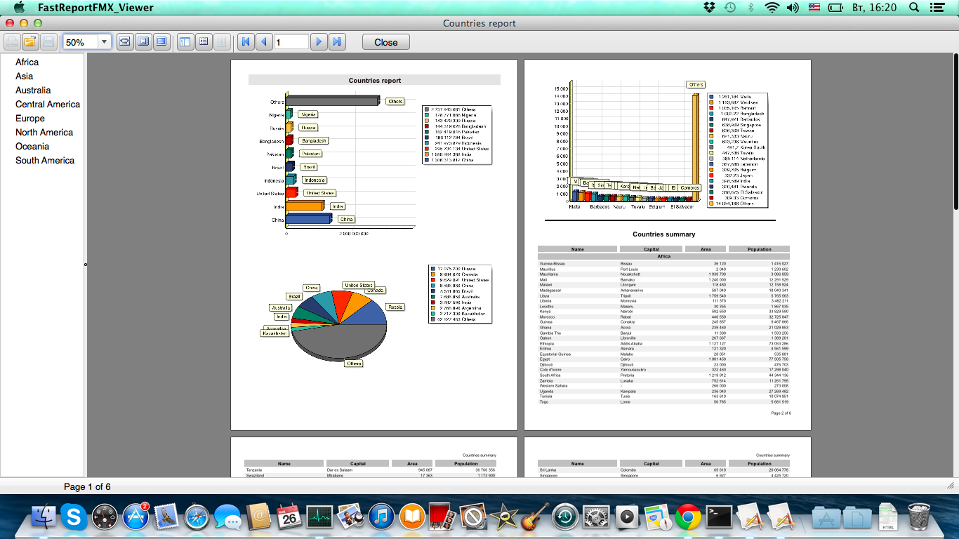 fastreport fmx viewer chart